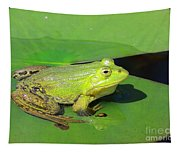 Green Frog Tapestry