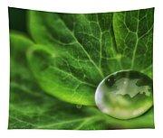 Green Globe Tapestry