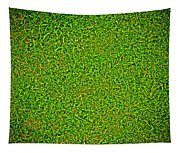 Green Grass Background Tapestry