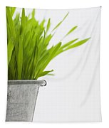 Green Grass In A Pot Tapestry