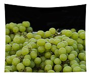 Green Green Grapes Tapestry