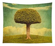 Green Growing Lullaby Tapestry