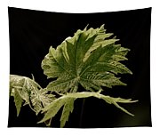 Green Leaves Tapestry