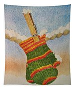 Green Mittens Tapestry