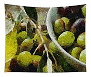 Green Olives Tapestry