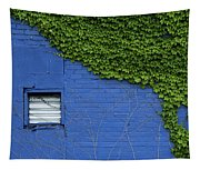 green on blue IMG 0964 Tapestry