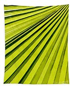 Green Palm Frond Tapestry