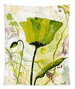 Green Poppy 003 Tapestry