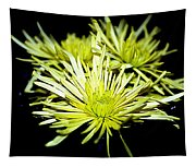 Green Spider Mums Tapestry