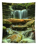 Green Spring Cascades Tapestry