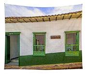 Green Trim Tapestry