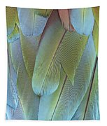 Green-winged Macaw Tapestry