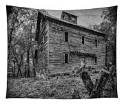 Greer Mill Black And White Tapestry