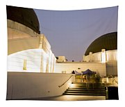 Griffith Park Observatory No. 3 Tapestry