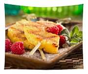 Grilled Pineapple  Tapestry