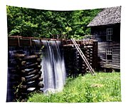 Grist Mill And Water Trough Tapestry