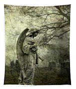 Dark And Gritty Fog Tapestry