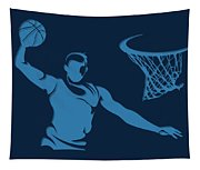 Grizzlies Shadow Player1 Tapestry