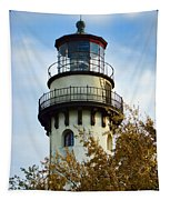 Grosse Point Lighthouse Tapestry