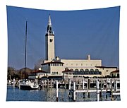 Grosse Point Yacht Club Tapestry