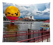 Grounded By The Storm Balloon Ride Walt Disney World Tapestry