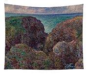 Group Of Rocks At Port Goulphar Tapestry
