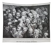 Group Of Thirty-five Heads Tapestry