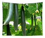 Growing Cucumbers Tapestry