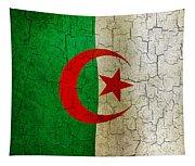 Grunge Algeria Flag Tapestry