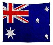 Grunge Australia Flag Tapestry