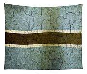 Grunge Botswana Flag Tapestry