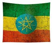 Grunge Ethiopia Flag Tapestry