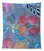 Grunge Floral II Tapestry