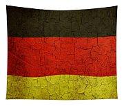 Grunge German Flag Tapestry