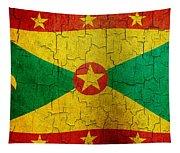 Grunge Grenada Flag Tapestry