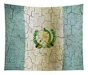 Grunge Guatemala Flag Tapestry