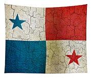Grunge Panama Flag Tapestry