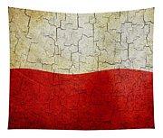 Grunge Poland Flag Tapestry