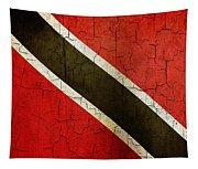 Grunge Trinidad And Tobago Flag Tapestry