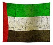 Grunge United Arab Emirates Flag Tapestry