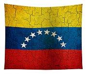 Grunge Venezuela Flag Tapestry