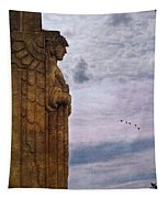 Guardian Of Hope Tapestry