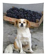 Guardian Of The Grapes Tapestry