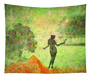 Guardian Of The Oasis Tapestry