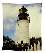 Guiding Light Of Key West Tapestry