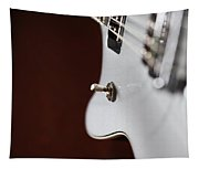 Guitar Abstract Tapestry
