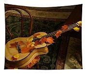 Guitar Autumn 1 Tapestry