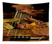Guitar Autumn 2 Tapestry