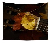 Guitar Autumn 4 Tapestry