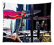 10261 Seasick Steve's Guitar On Drum Tapestry